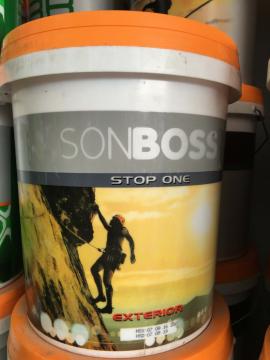 Boss Hợp chất chống thấm pha xi măng STOP ONE 18L