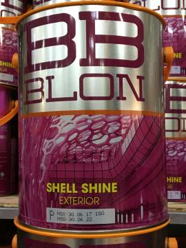 Sơn Boss ngoại thất bóng nhẹ SHELL SHINE 5L (GỐC P)