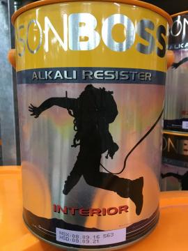 Sơn Boss lót chống kiềm nội thất ALKALI RESISTER 5L