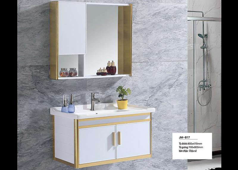 Bộ tủ lavabo nhôm Veurro VR-817