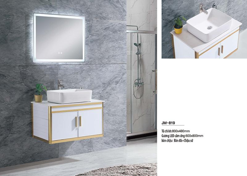 Bộ tủ lavabo nhôm Veurro VR-819