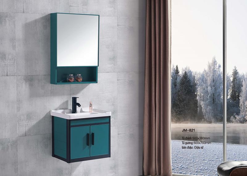 Bộ tủ lavabo nhôm Veurro VR-821
