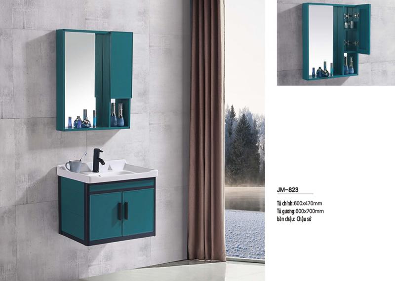 Bộ tủ lavabo nhôm Veurro VR-823