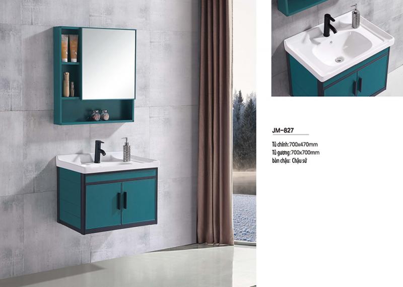 Bộ tủ lavabo nhôm Veurro VR-827