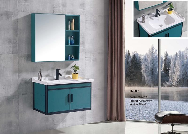Bộ tủ lavabo nhôm Veurro VR-831