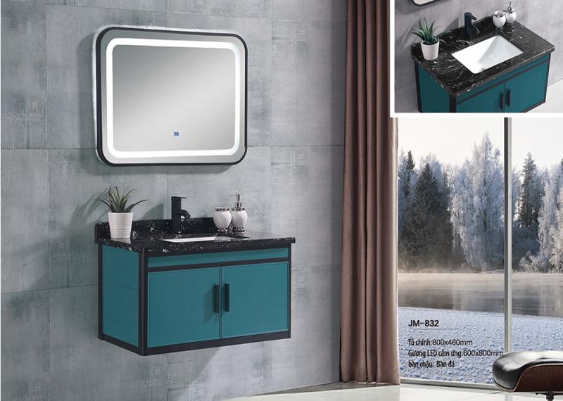 Bộ tủ lavabo nhôm Veurro VR-832
