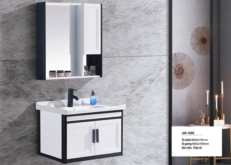 Bộ tủ lavabo nhôm Veurro VR-835
