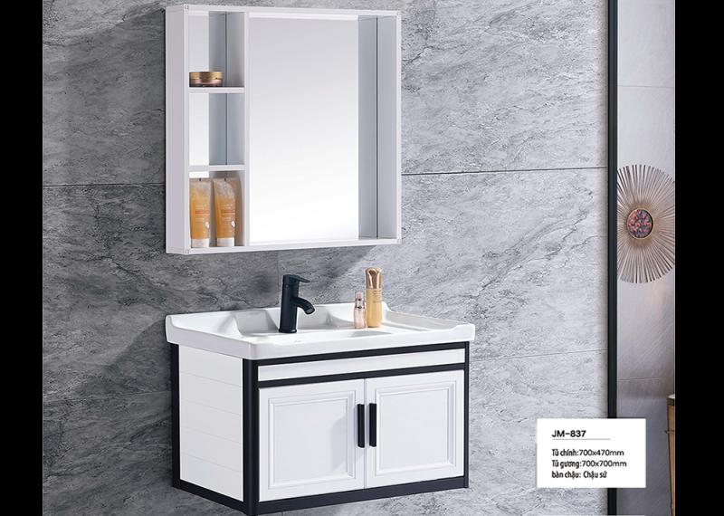 Bộ tủ lavabo nhôm Veurro VR-837