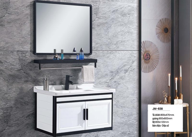 Bộ tủ lavabo nhôm Veurro VR-838