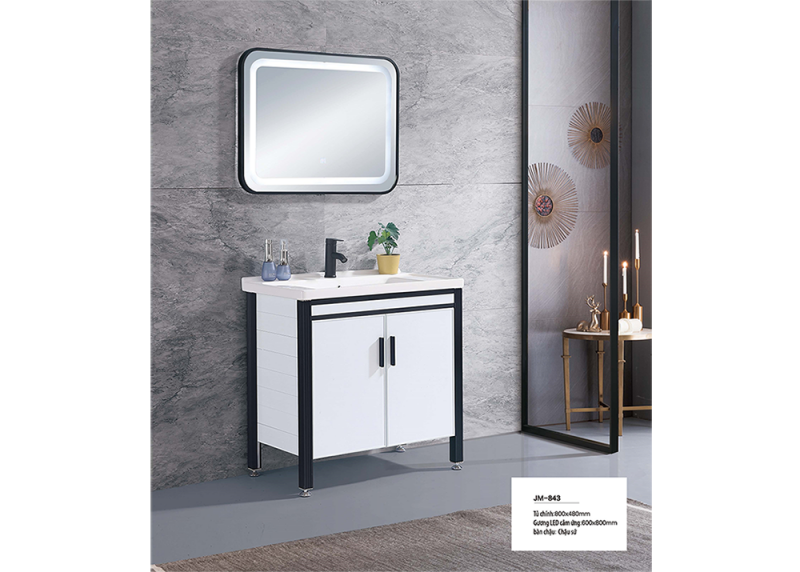 Bộ tủ lavabo nhôm Veurro VR-843