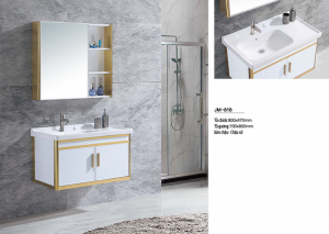 Bộ tủ lavabo nhôm Veurro VR-818