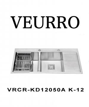 Chậu Rửa Chén Inox 304 Veurro VRCR-KD12050A K-12