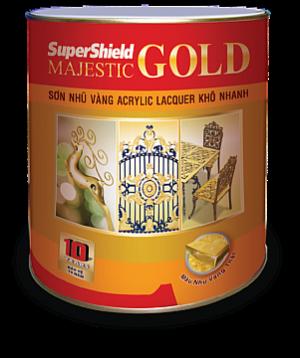 SƠN NHŨ VÀNG SUPERSHIELD MAJESTIC GOLD - LACQUER