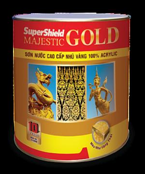 SƠN NƯỚC CAO CẤP NHŨ VÀNG SUPERSHIELD MAJESTIC GOLD