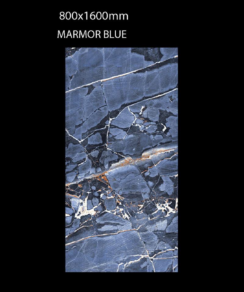 Gạch Ấn Độ 800mmx1600mm MARMOR BLUE