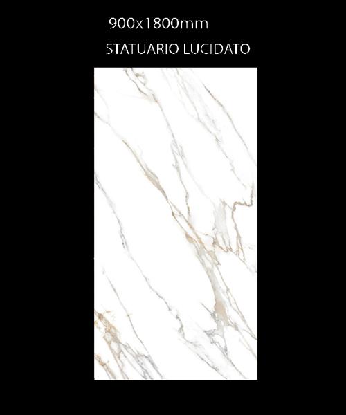 Gạch Ấn Độ 900mmx1800mm STATUARIO LUCIDATO