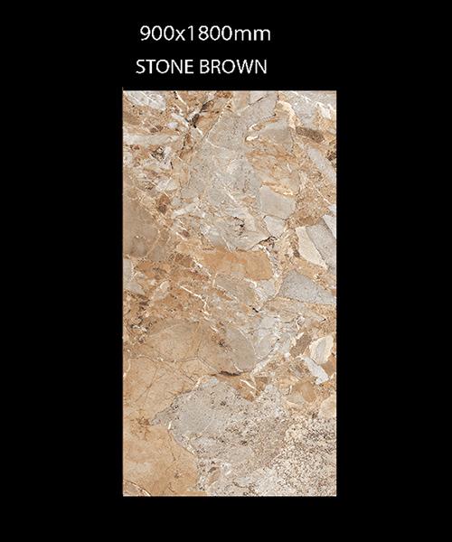Gạch Ấn Độ 900mmx1800mm STONE BROWN