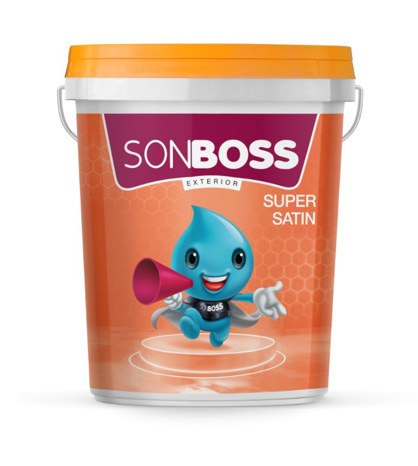 SONBOSS EXTERIOR SUPER SATIN 18L