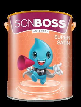 SONBOSS EXTERIOR SUPER SATIN 4.375L