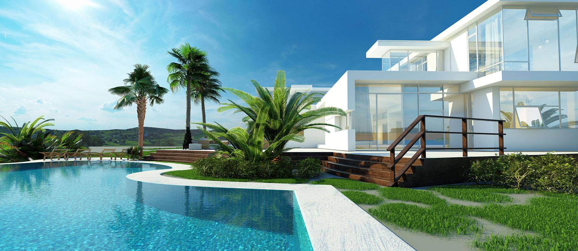 Resort, Khách Sạn - Biệt Thự Nghỉ Dưỡng sử dụng gạch Ấn Độ