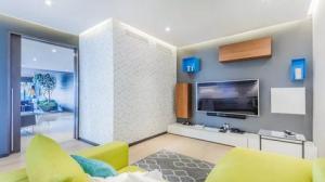 Trang trí nội thất phòng khách đẹp hơn với những mẫu kệ tivi hiện đại