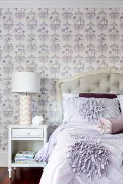 Trang trí phòng ngủ siêu ấn tượng và phong cách với giấy dán tường