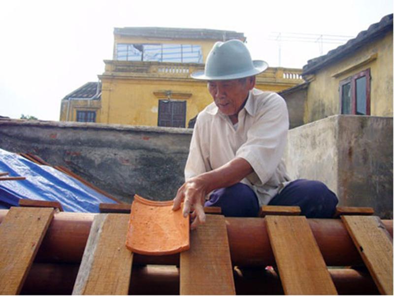 Hướng dẫn những cách lợp mái ngói âm dương chi tiết, dễ dàng thực hiện nhất KN131107