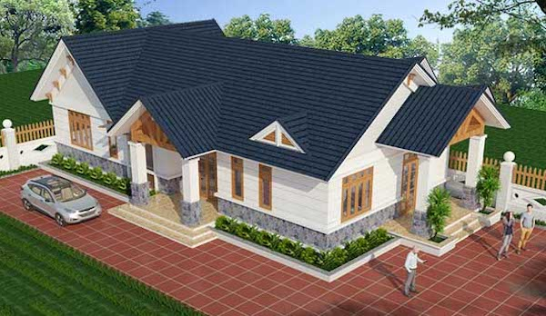 Tổng hợp các mẫu nhà cấp 4 đẹp 100m2 thiết kế hiện đại từ 300 triệu