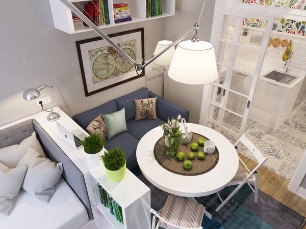 Căn hộ 25m² đẹp với nội thất cực kỳ hợp lý