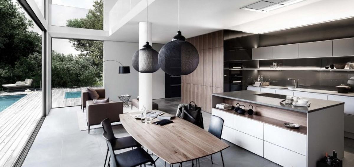 Giải pháp bố cục không gian bếp từ châu Âu
