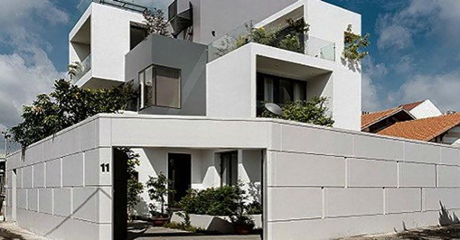 Bình luận Ngắm nhìn ngôi nhà hình hộp xếp chồng giữa Sài Gòn