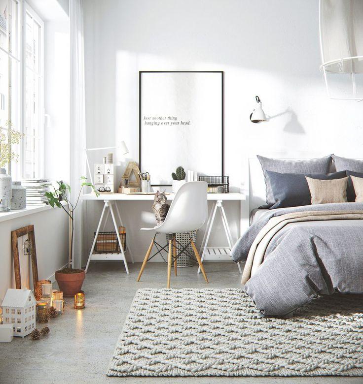 Ý tưởng thiết kế phòng ngủ đẹp cho phái đẹp
