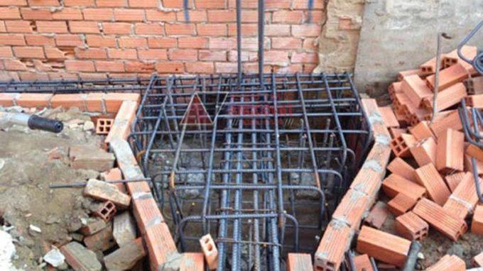 Bước 5: Chuẩn bị mặt bằng và xây móng