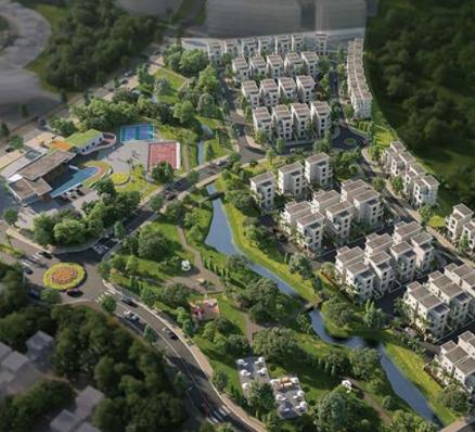 Khu biệt thự có mức đầu tư khủng giữa đô thị sáng tạo Khu Đông