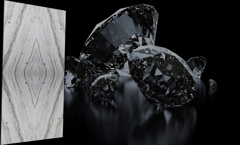 GAD-P62019 Kim cương xám và đen – Kẻ nổi loạn tạo nên xu hướng