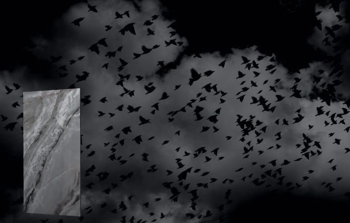 Những viên gạch mang Nghệ thuật trắng đen