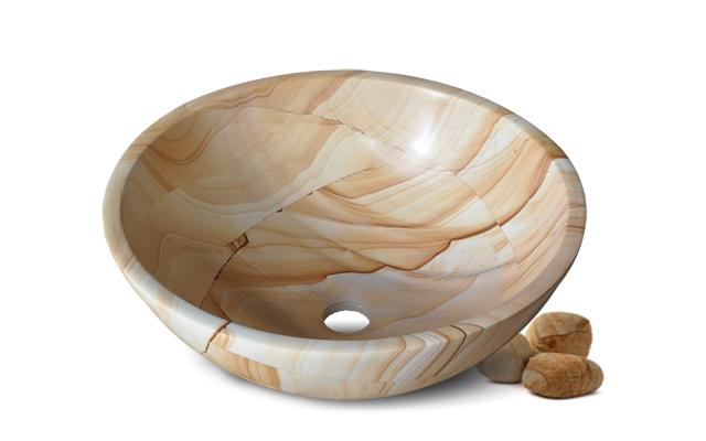 Lavabo đá tự nhiên Kanly MAR13