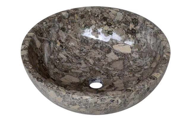 Lavabo đá tự nhiên Kanly MAR14N