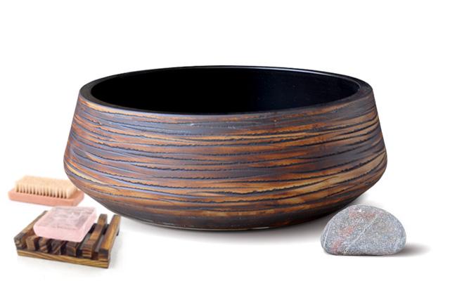 Lavabo sứ để bàn Kanly SU009