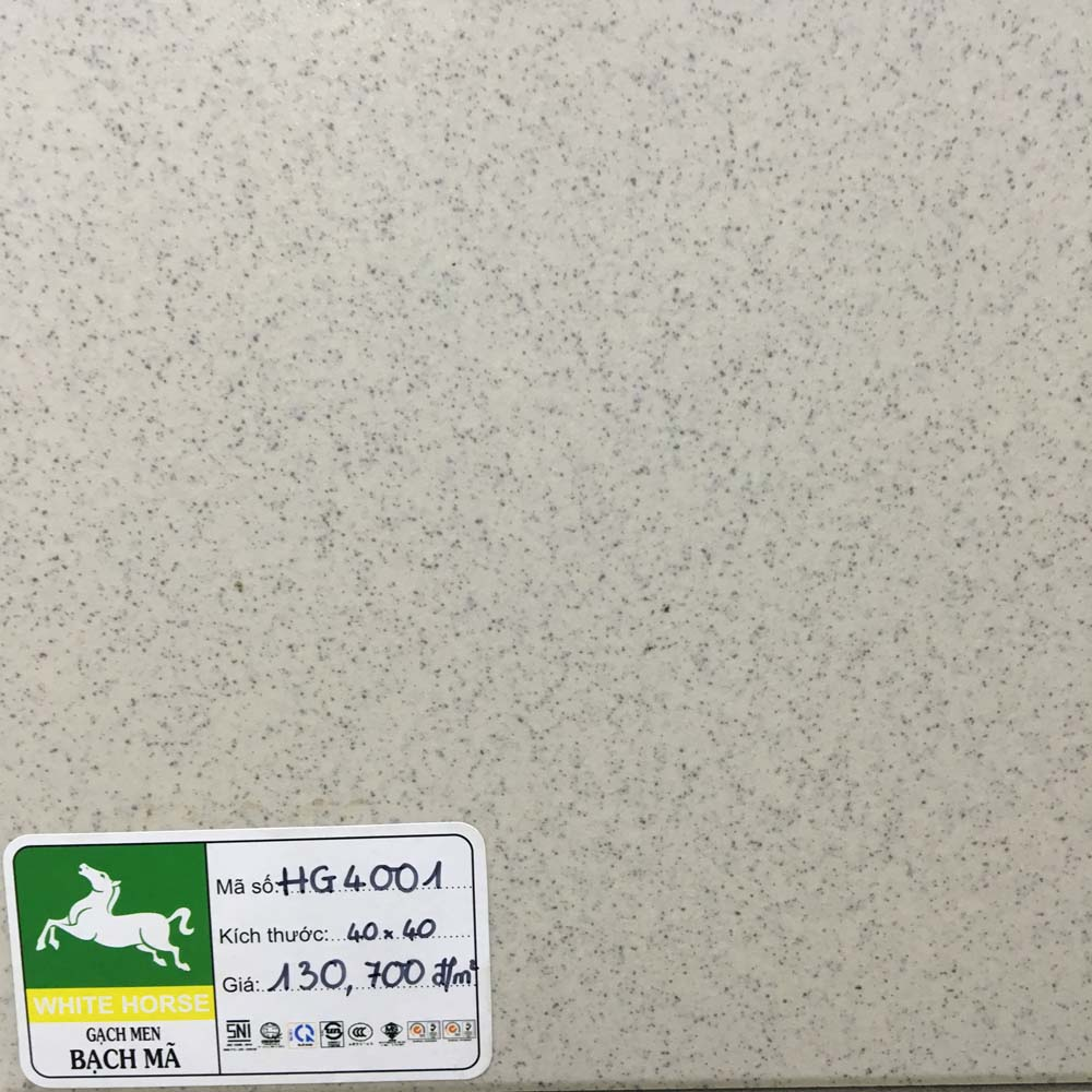 Gạch Bạch Mã 400mmX400mm HG4001
