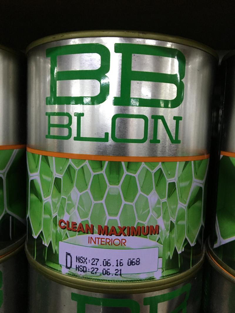 Sơn Boss nội thất chùi sạch dễ dàng CLEAN MAXIMUM 1L (GỐC D)