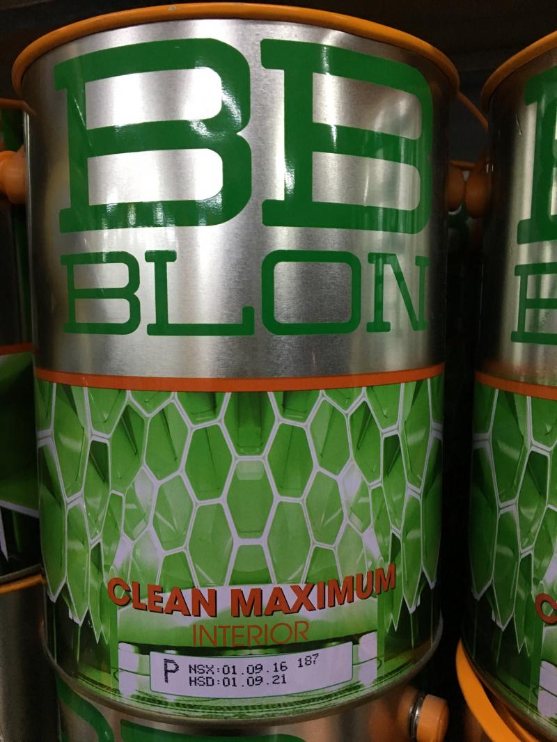 Sơn Boss nội thất chùi sạch dễ dàng CLEAN MAXIMUM 5L (GỐC P)