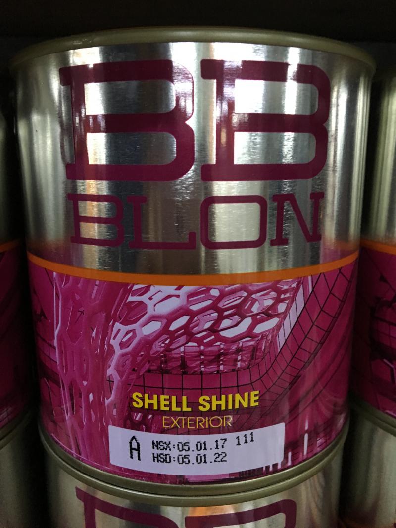 Sơn Boss ngoại thất bóng nhẹ SHELL SHINE 1L (GỐC A)