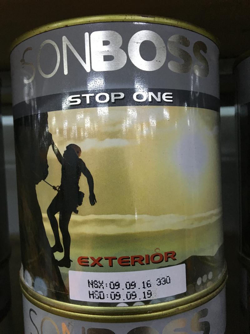 Boss Hợp chất chống thấm pha xi măng STOP ONE 1L