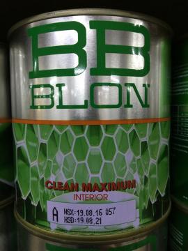 Sơn Boss nội thất chùi sạch dễ dàng CLEAN MAXIMUM 1L (GỐC A)