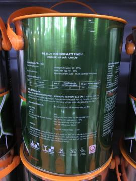 Sơn MATT FINISH 5L pha màu