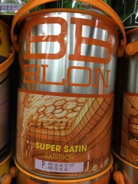 Sơn  ngoại thất siêu bóng SUPER SATIN 5 Lít