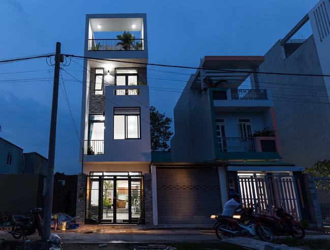Nhà phố hiện đại 4 tầng đẹp tại quận 9