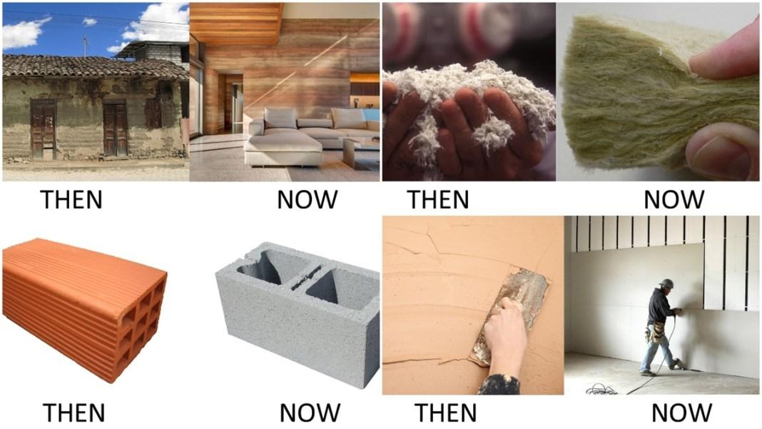 Vật liệu xây dựng: Quá khứ và hiện tại!