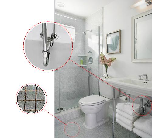 Những phương pháp làm sạch mùi hôi nhà vệ sinh